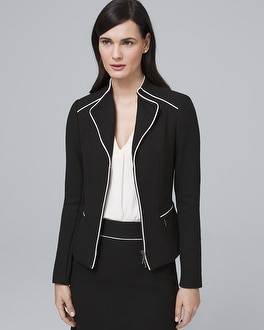 Contrast Suiting Jacket by Whbm