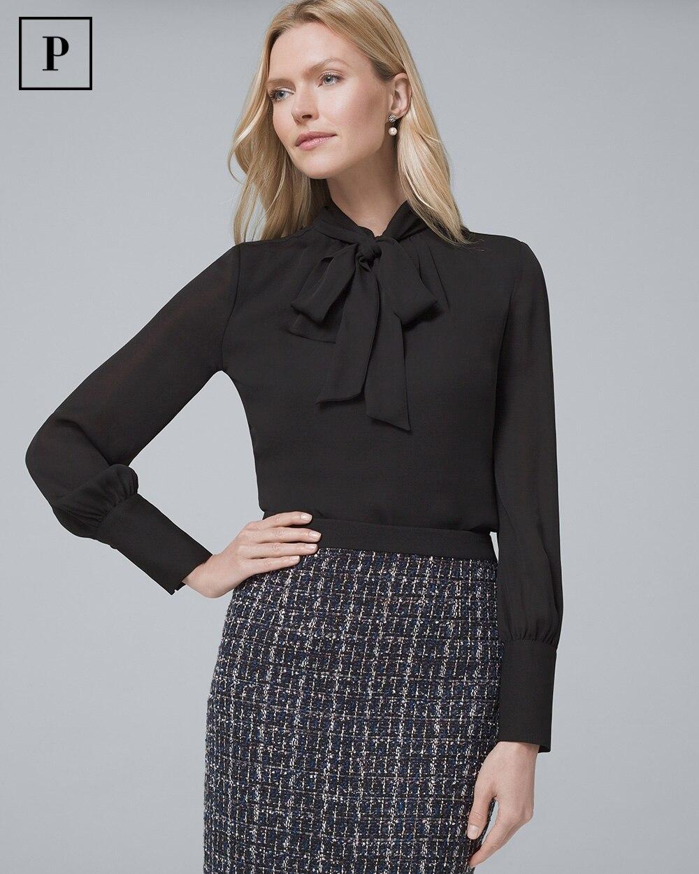 430191f38020c Shop Petite Tops For Women - Blouses