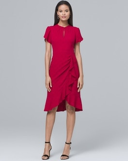 Flutter Sheath Dress | Tuggl