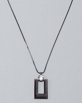 Swarovski Crystal Geo Pendant Necklace | Tuggl