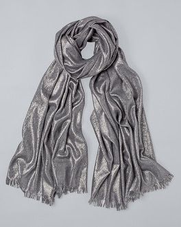 Shimmer Oblong Wrap by Whbm
