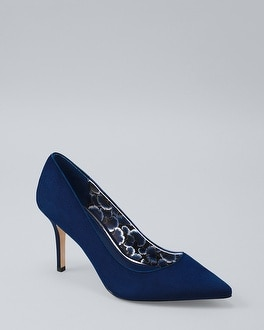 Velvet Pumps by Whbm