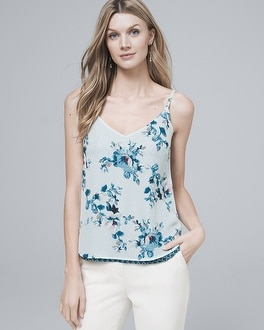 Woven Reversible Cami by Whbm