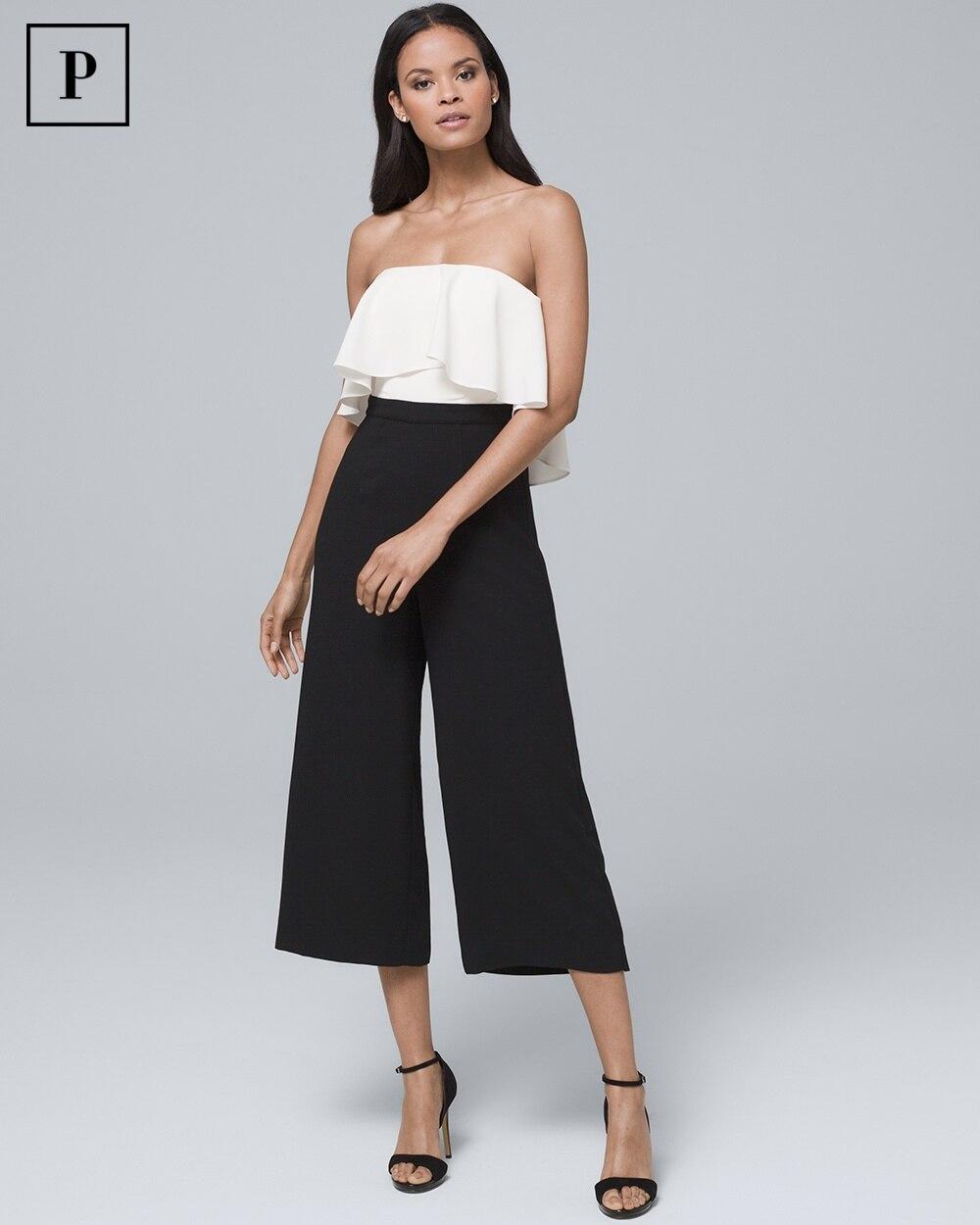 894a15aec68d Petite Colorblock Popover Jumpsuit - White House Black Market