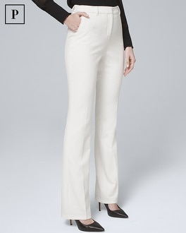 Petite Luxe Suiting Bootcut Pants by Whbm