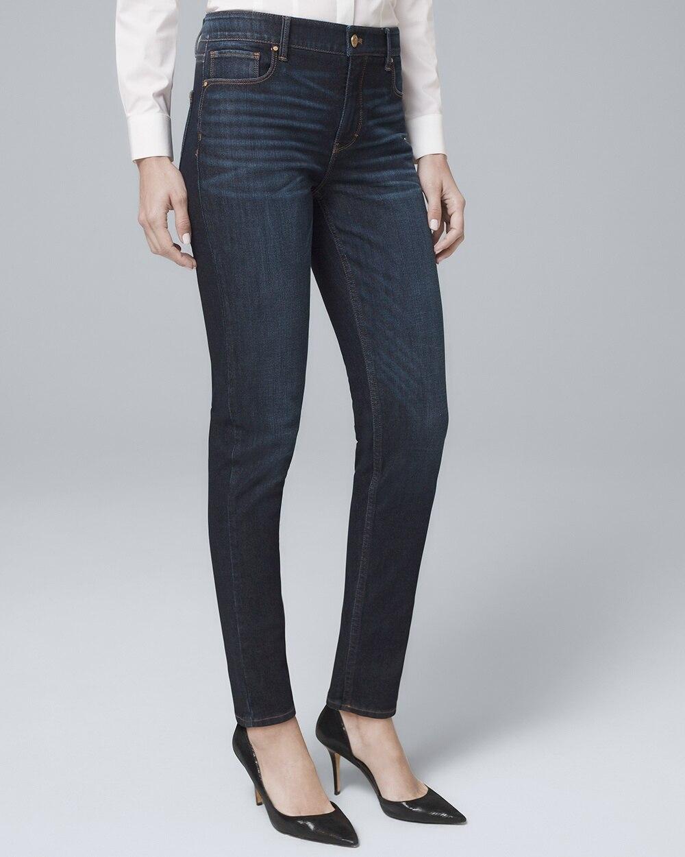 7e7f549ee28 High-Rise Sculpt Fit Slim Jeans - White House Black Market