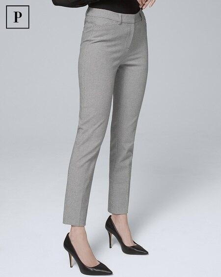 Petite Comfort Stretch Slim Ankle Pants