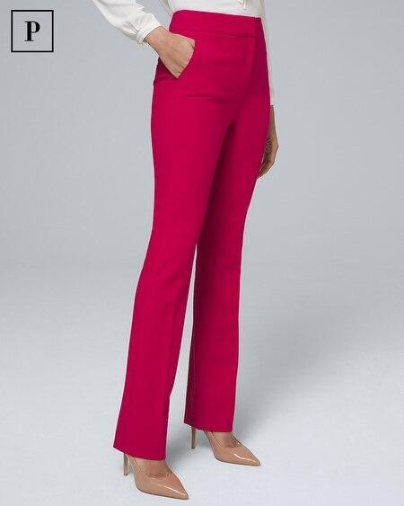 Petite High-Rise Bootcut Pants