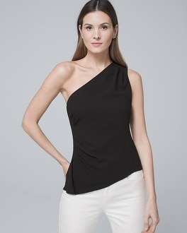 One Shoulder Bodice Top by Whbm