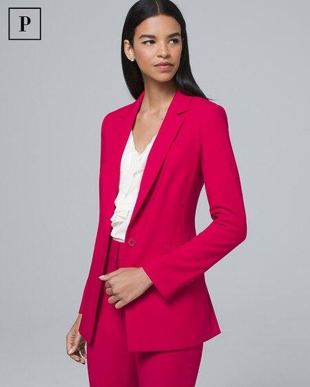 Petite Luxe Suiting Blazer Jacket