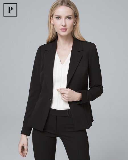 Petite All-Season Blazer Jacket