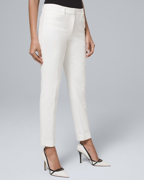 Luxe Suiting Slim Ankle Pants by Whbm