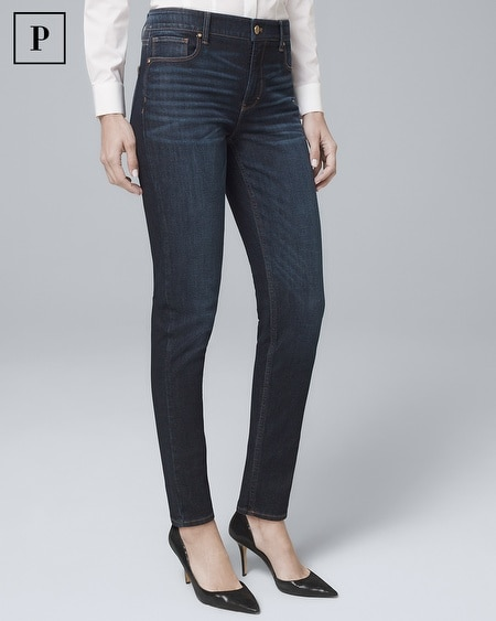 Petite High-Rise Sculpt Fit Slim Jeans