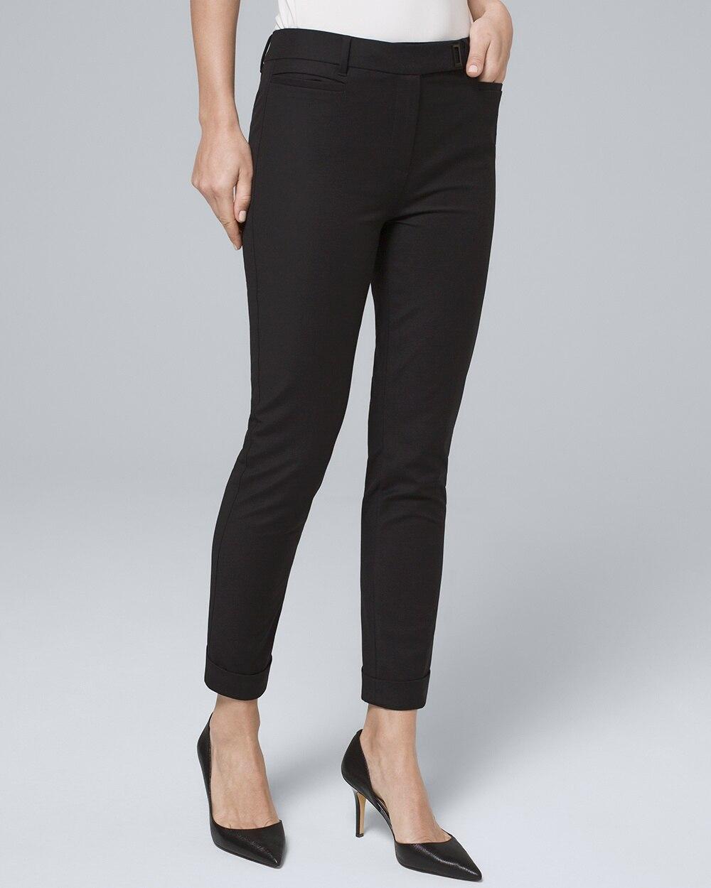Modern Fit Slim Crop Pants by Whbm