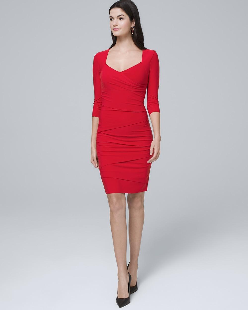 98bd656532c Instantly Slimming Sheath Dress - White House Black Market