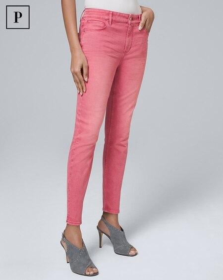 Petite High-Rise Skinny Crop Jeans