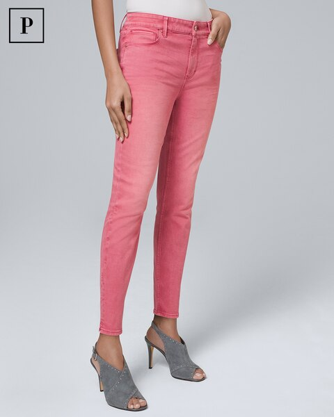 Petite High Rise Skinny Crop Jeans by Whbm