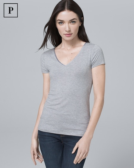 Petite Ultra-Luxe Soft Tee