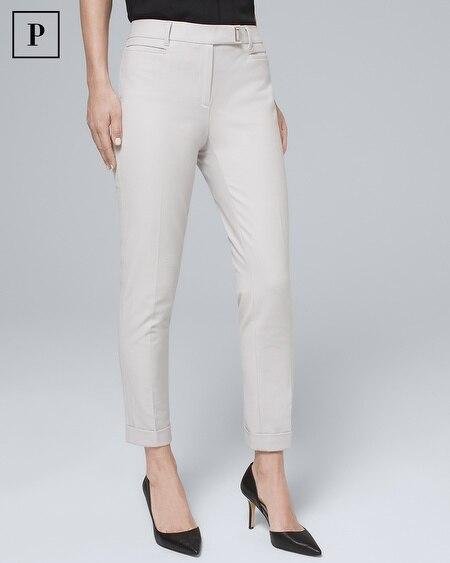 Petite Slim Crop Pants