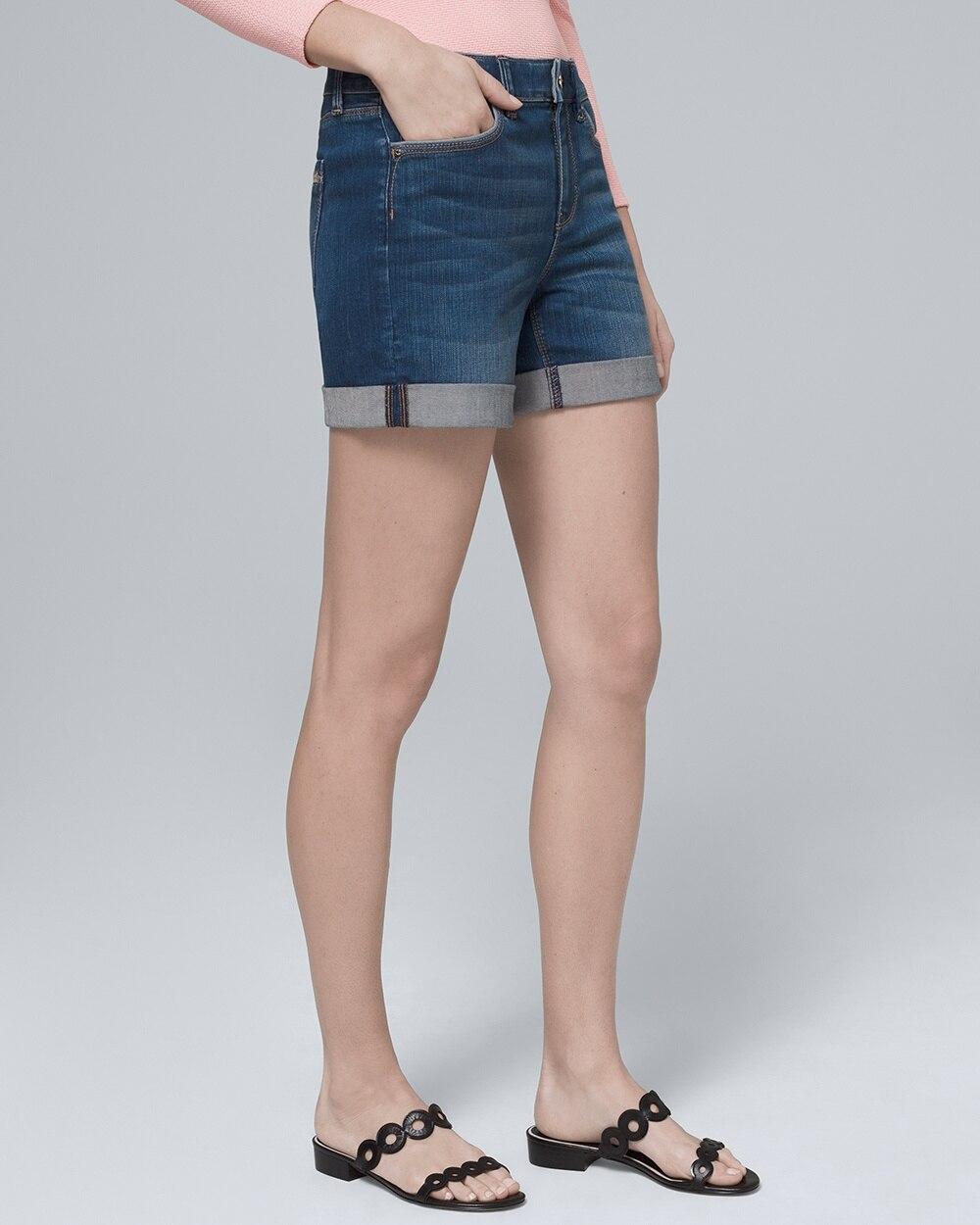 922141fc72 5-inch Denim Shorts - White House Black Market