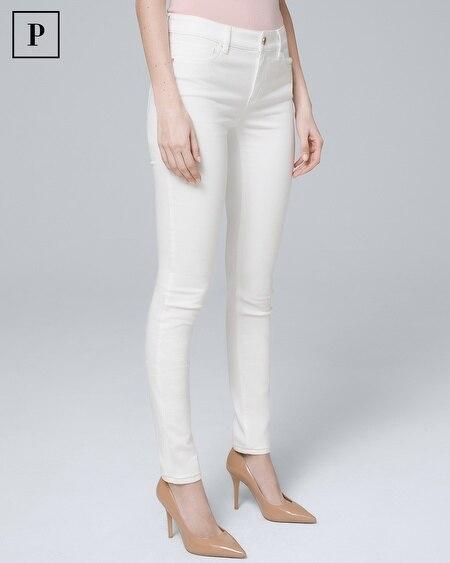Petite Mid-Rise Essential Slim Jeans