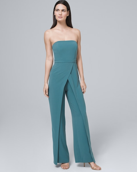 f2b176caa49d Return to thumbnail image selection Convertible Split-Leg Jumpsuit video  preview image, click to start video