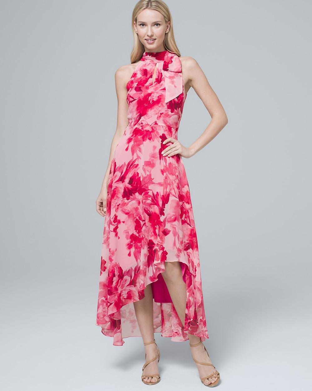 906c110a5f0c6d Floral-Print Soft Maxi Dress - White House Black Market