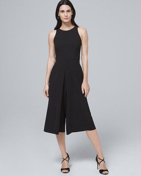 15e9ed55aa4 Black Culotte Jumpsuit