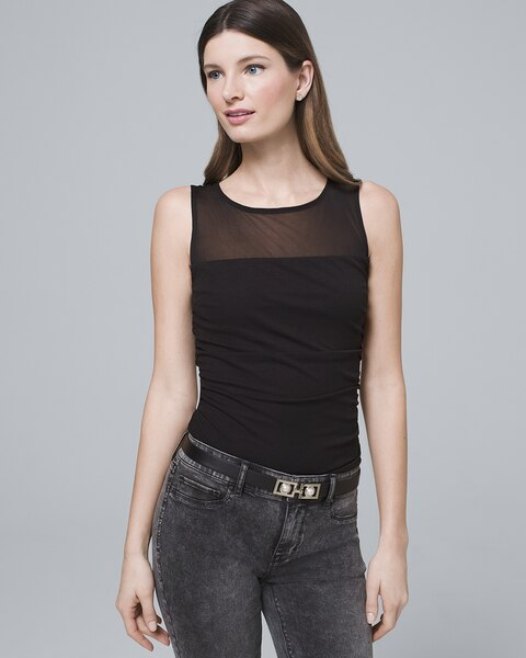 Ruched Tank by Whbm