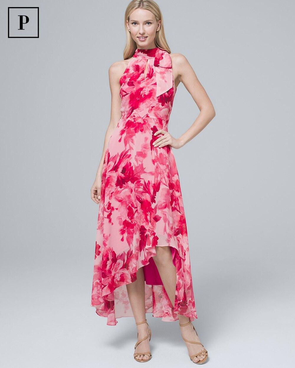 6ccba6c9e Petite Floral-Print Soft Maxi Dress - White House Black Market