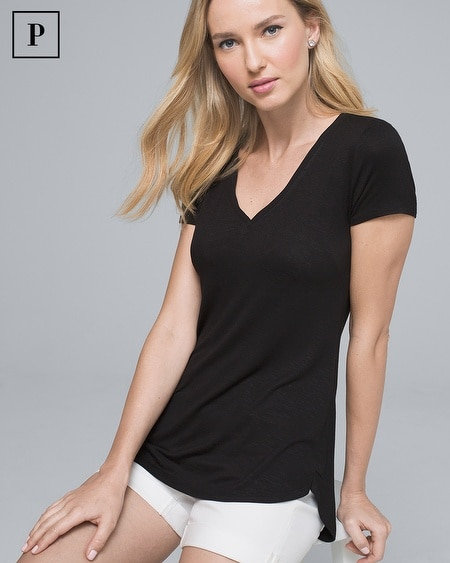 Petite Everyday V-Neck Tee