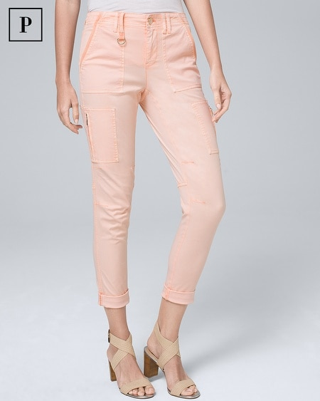 Petite Classic-Rise Slim Cropped Jeans