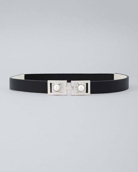 Faux Pearl Belt by Whbm