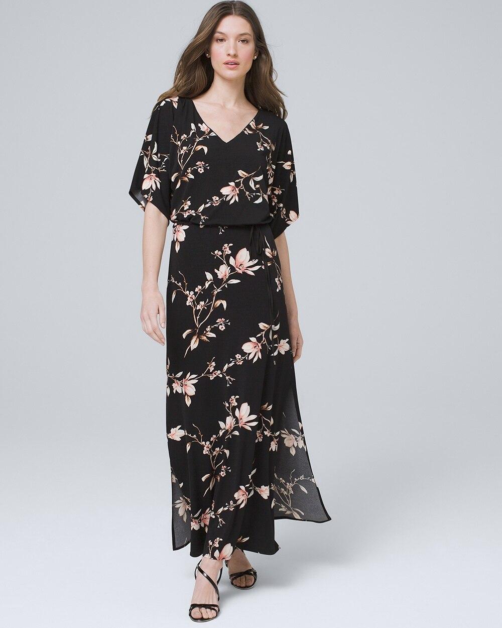 dee250f72340c6 Floral Maxi Dress - White House Black Market