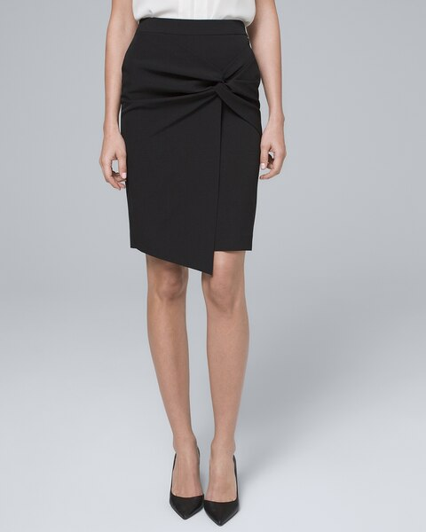 Knot Front Pencil Skirt by Whbm