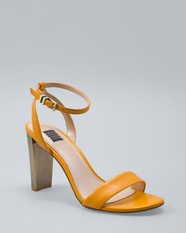 84364bd983b Leather Strappy Heels