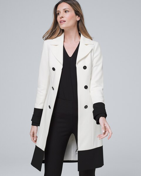 Colorblock Coat by Whbm