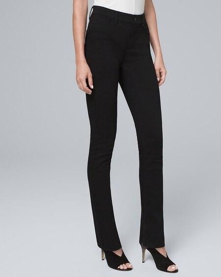 06b9680302 Ultimate Sculpt High-Rise Slit-Hem Slim Jeans with Top Secret Slimming  Pockets