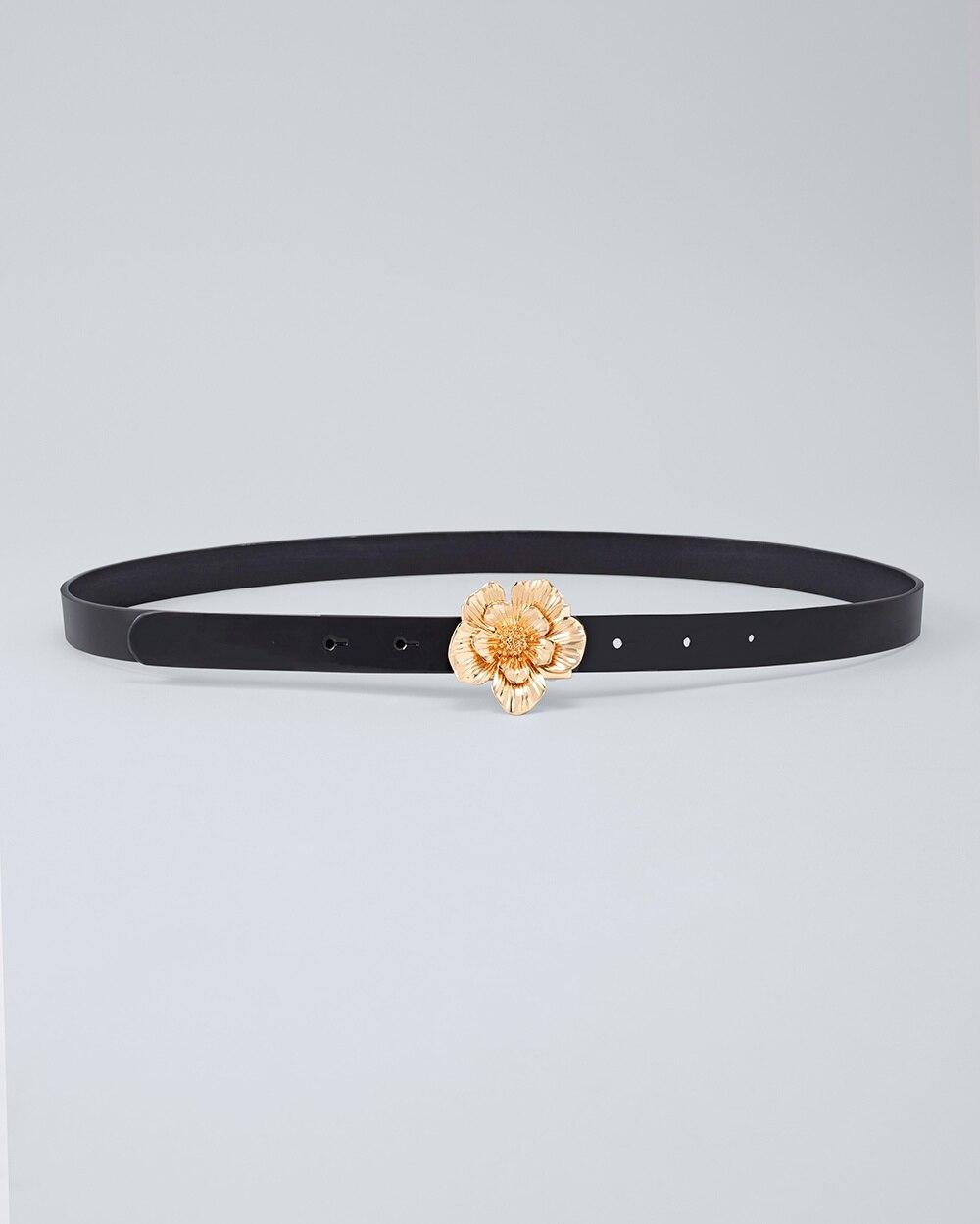 Flower Buckle Belt by Whbm