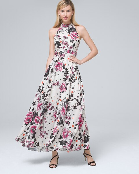 choose official 2020 browse latest collections Floral Maxi Dress