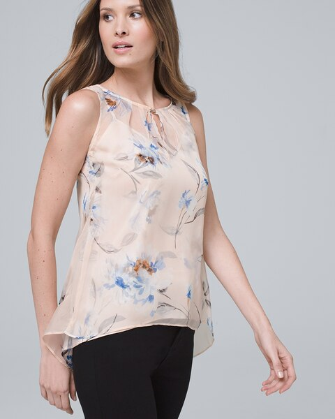 Floral Layered Shell by Whbm