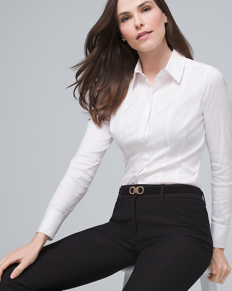 Basic Button Down Shirt by Whbm