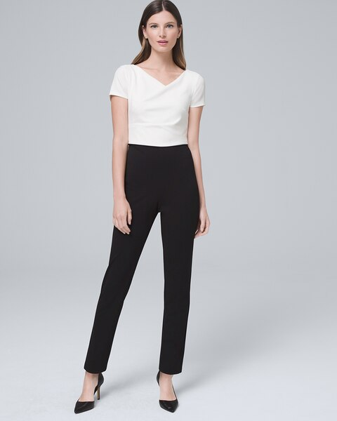 Colorblock Jumpsuit by Whbm