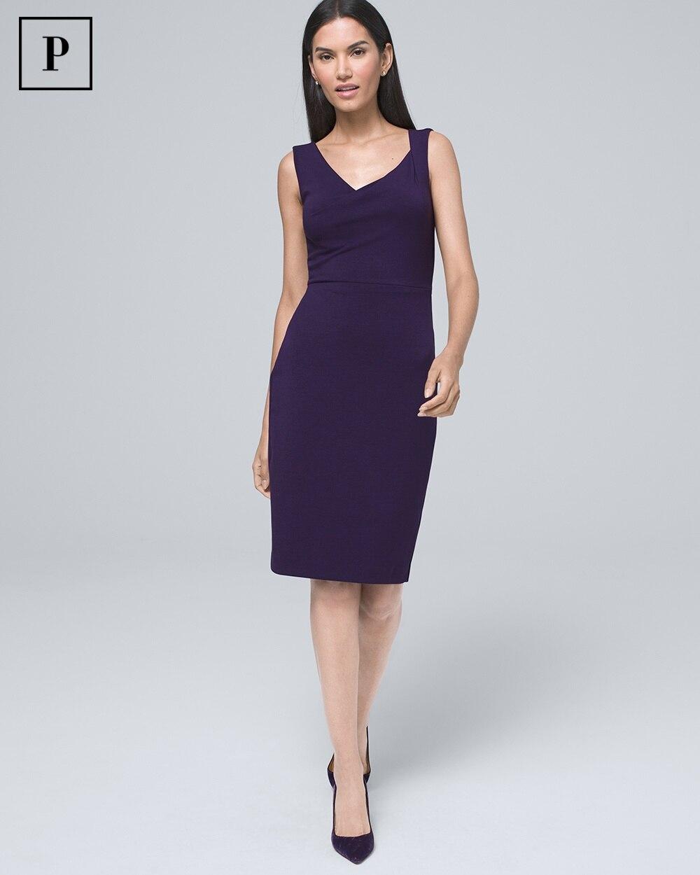 Draped Sheath Dress by Whbm