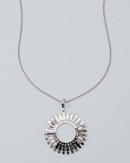 Brand new WHITE HOUSE BLACK MARKET Gold pendant Single-Row Necklace