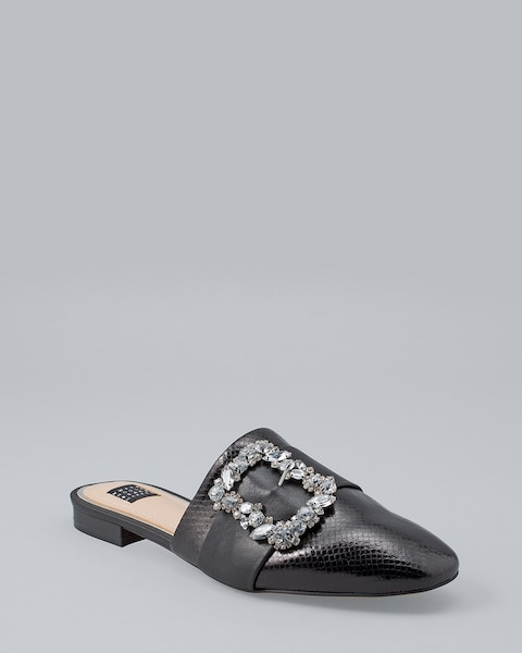 Jeweled Buckle Slides