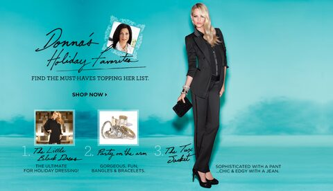 Donna's Holiday Favorites - Shop Now