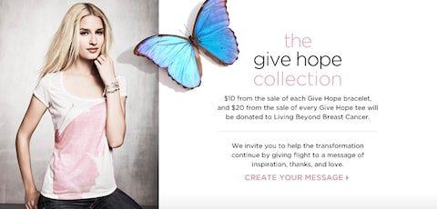 The Give Hope Collection. Donate Now!