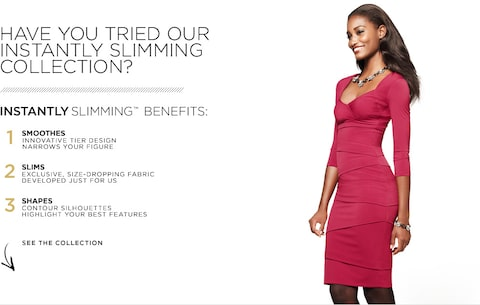 HAVE YOU TRIED OUR INSTANTLY SLIMMING COLLECTION? Instantly Slimming Benefits
