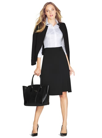 midi skirt suit dress